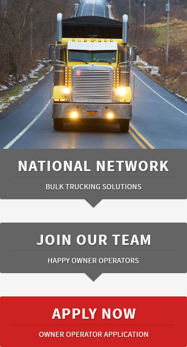 Owner Operators - Page Trucking Inc